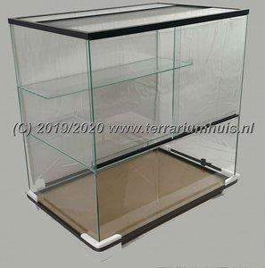Terrarium voor knaagdieren 80*40*50 cm.